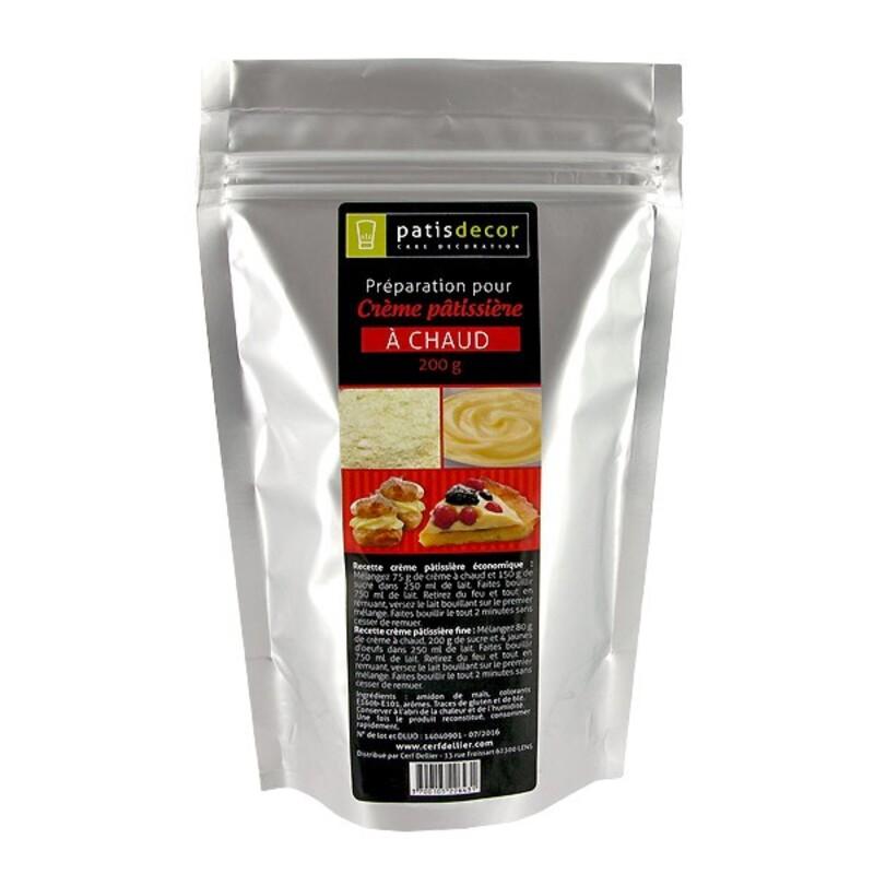 Crème Pâtissière à chaud Patisdécor 200g