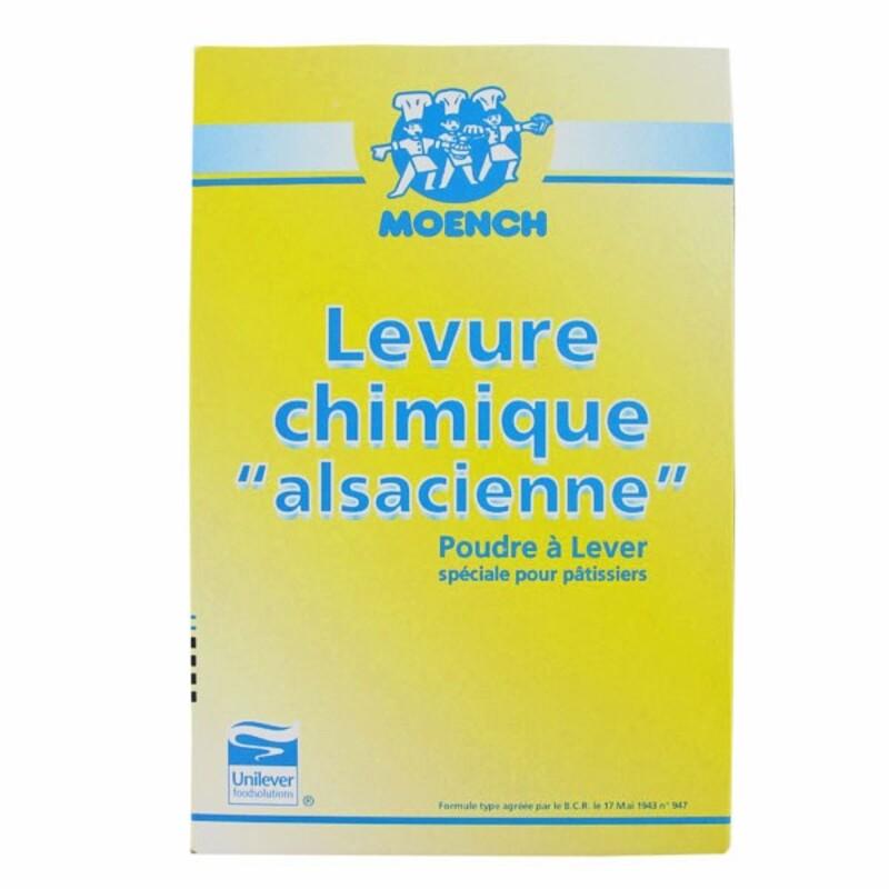 """Levure chimique """"alsacienne"""" pour pâtissiers 1,5 kg"""