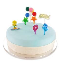Kit Décor gâteau Titi surfeur