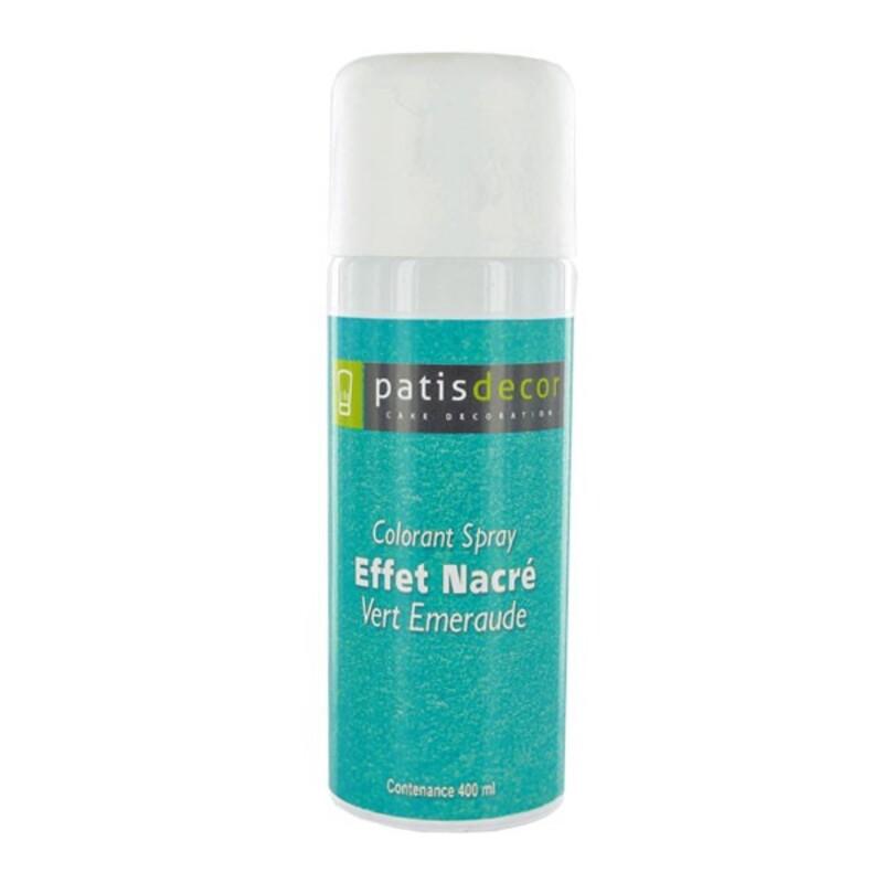 Spray colorant effet nacré Emeraude 400 ml