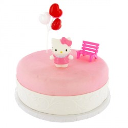 Kit Décor Gâteau Hello Kitty blister