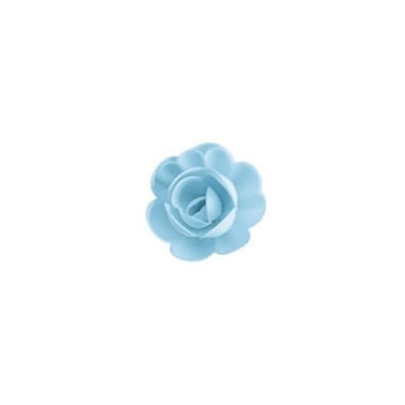 Grande rose bleue (x36)