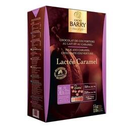 Chocolat de Couverture au Lait Lactée Caramel 5 kg