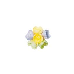 Mini-rose arôme vanille caramel (x60)