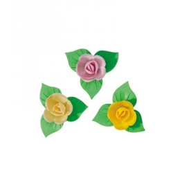 Mini-roses coloris tendres (x81)