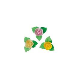 Mini-roses coloris tendres (x81)