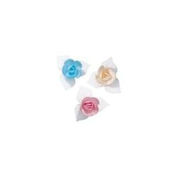 Mini-roses coloris pastels (x81)