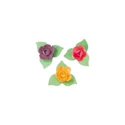 Mini-roses coloris vifs (x81)
