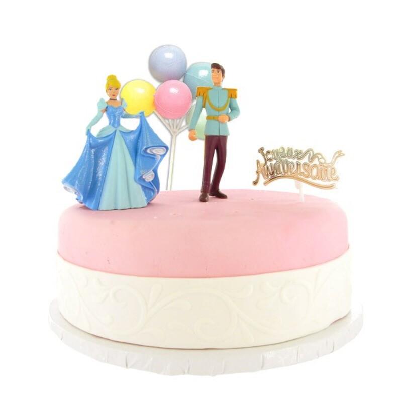 Kit Décor Gâteau Prince et Princesse