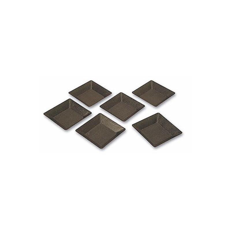 Moule tartelette carrée Exopan (x25)