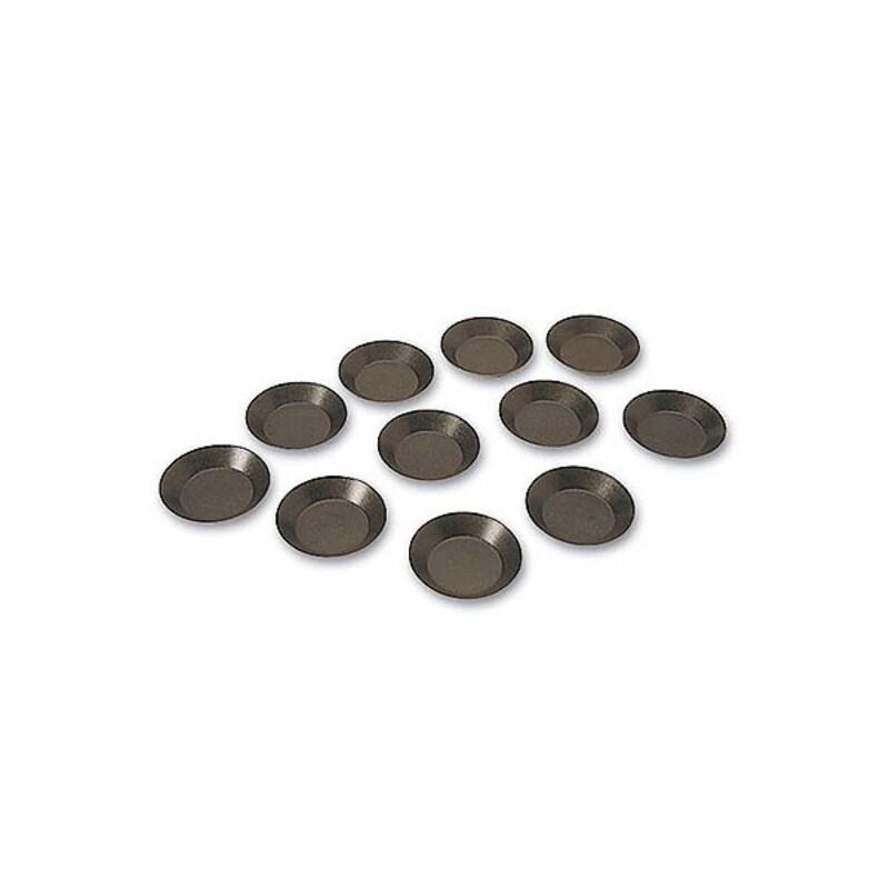 Moule tartelette ronde unie Exopan (x25)