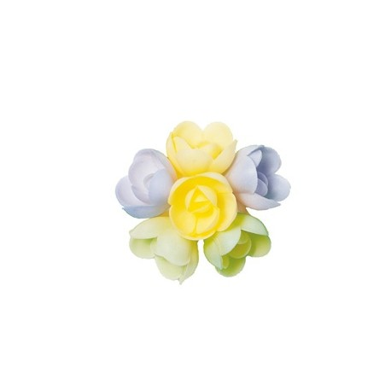 Petite rose arôme vanille caramel (x51)