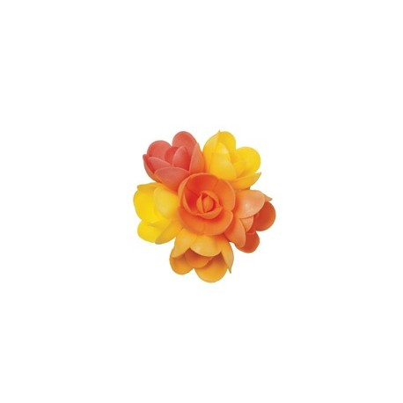 Petite rose arôme fruits exotiques (x72)