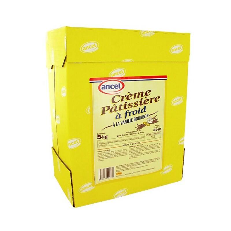Crème Pâtissière à froid vanille Bourbon 5 kg
