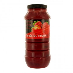 Purée de fraises 1 kg Pellorce & Jullien