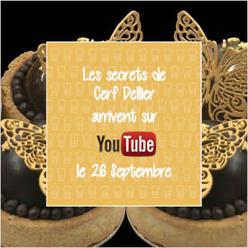 Cerf Dellier lance sa Chaine YouTube le 26 septembre !