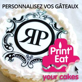 Personnalisez vos gateaux, cupcakes et mini-cupcakes avec Print'eat.fr !