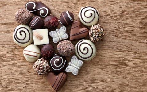 Moules à chocolat St Valentin